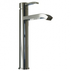 Aqualine Square Basin Mixer High 300x180mm Chrome Plated