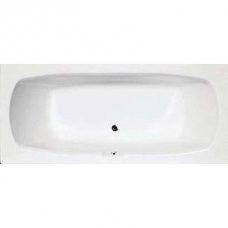 Amur Built-In Bath w/ Centre Waste 445x800x1800mm White