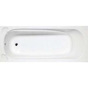 Mississippi Built-In Bath w/ Handles & End Rain 390x700x1700mm White