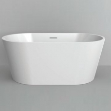 Kunene Freestanding Bath 590x800x1700mm White