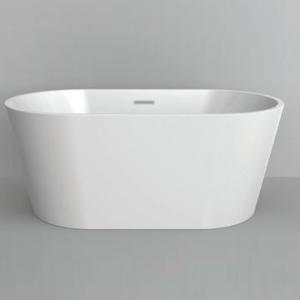 Kunene Freestanding Bath 1700x800x590 White