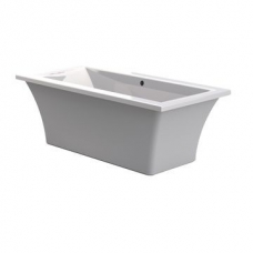 Yukon 1800 Freestanding Bath 1800x800x590mm white.