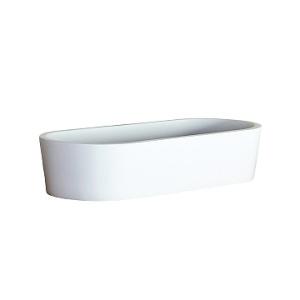 Perth Small Countertop Basin 490x220x105mm Pearl White