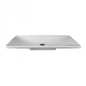 Liscio Countertop Basin 795x445x90mm Pearl White