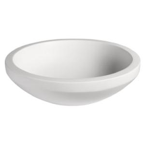 Bologne Large Countertop Basin Pearl White