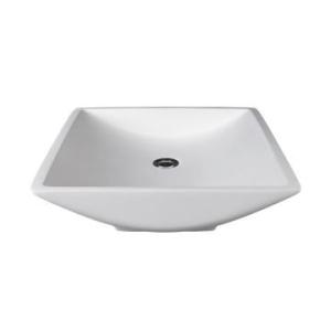 Magpie Countertop Basin 495x470x100mm Pearl White