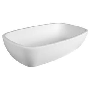 Jane Countertop Basin 564x338x130mm Gloss White