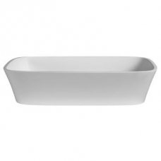 Catherine Basin 545x350x120mm Matt White
