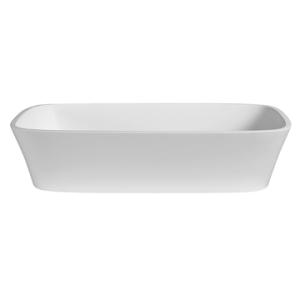 Carmen Countertop Basin 545x350x120mm Pearl White