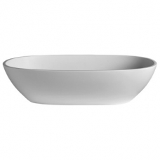 Amsterdam Countertop Basin 550x350x125mm Polished White