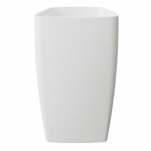 Ava Freestanding Pillar Basin w/o Taphole 550x450x960mm Pearl White