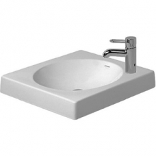 Architec Above Counter Basin 50cm White (Tap/Accessories Not Included)