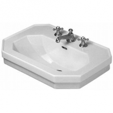 Series 1930 Washbasin 700mm with 2 Tap Holes White