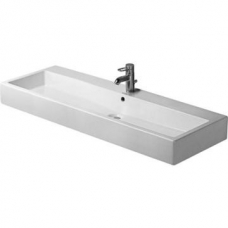 Vero Washbasin w/Tap Platform 1200mm White (Tap/Accessories Not Included)
