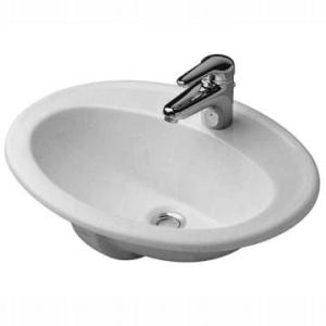 DuraPlus Basin Drop-In 560x455mm White Alpin