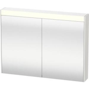 Brioso 82Cm Mirror Cabinet 2 Doors High Gloss White