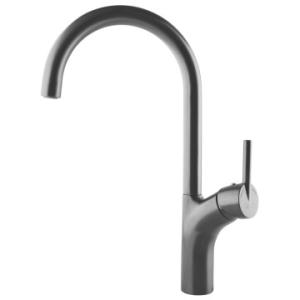 Franke  Highrise Swivel Sink Mixer 338x184mm Gunmetal
