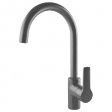 Franke  Highrise Swivel Sink Mixer 338x184mm Gunmetal