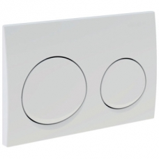 Geberit Actuator Plate Alpha 10 for D/F White Alpine