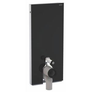 Geberit Monolith Sanitary Module for F/S WC 114cm Blk Gls