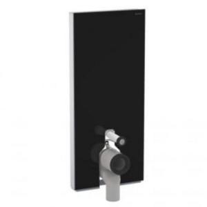 Geberit Monolith Plus for Floor-Standing WC 101cm Blk Gls