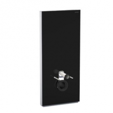 Geberit Monolith Plus for Wal-Hung WC 101cm Black Glass