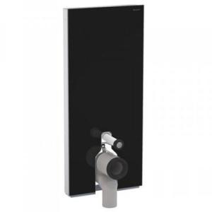 Geberit Monolith Plus for F/S WC 114cm Black Glass