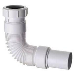 PVC Flexible Pipe 32/40mm Universal White - Gio