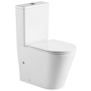 Evora Close Couple Suite Rimless S/C Seat & Quick Release White - Gio