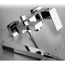 Square Bath Mixer Chrome - Gio