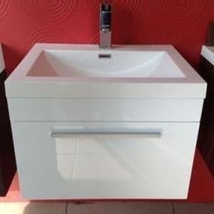 Gio Bathroom Vanity 600mm White - Gio