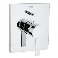 Grohe Allure Single Lever Bath Mixer with Diverter Chrome