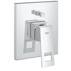 Grohe Eurocube Single Lever w/o Concealed Bath Mixer Chrome