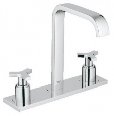 Grohe Allure 3-Hole Basin Mixer Deck-Mounted Chrome