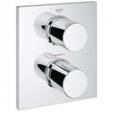 Grohe Grohtherm F Thermostatic Trim with Integrated Diverter Chrome