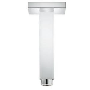 Grohe Rainshower Ceiling Shower arm 142mm Square Plate Chrome