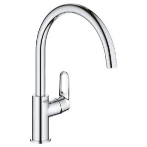 Grohe BauFlow Single-Lever Sink Mixer 1/2'' Chrome