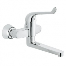Grohe Euroeco Single Sequential Single Lever Basin Mixer ½