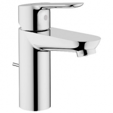 Grohe BauEdge Single Lever Basin Mixer Chrome