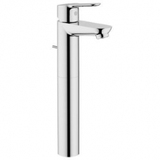 Grohe BauEdge Single Lever Basin Mixer Freestanding Chrome