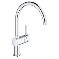 Grohe Minta Lever Sink Mixer with Swivel Spout Chrome