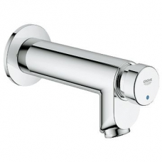 Grohe Euroeco Cosmo T Self-Closing Pillar Tap ½