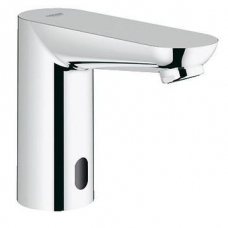 Grohe Euroeco Cosmo E Infra-Red Electronic Basin Mixer without Mixing Device Chrome