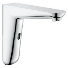 Grohe Euroeco Cosmo E Infra-Red Electronic Wall Basin Tap w/o mixing Device Chrome