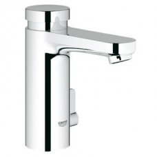 Grohe Eurosmart Cosmo T S-Closing Basin Mixer w/ Mixing Device & Temp Limiter Chrome