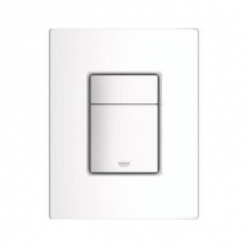 Grohe Skate Cosmopolitan Wall Plate Vertical 156x197mm White