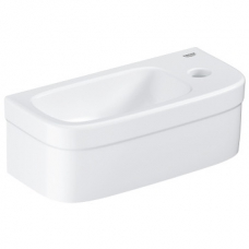 Grohe Euro Ceramic Mini Wall-Hung Basin without Pedestal 370x180mm White