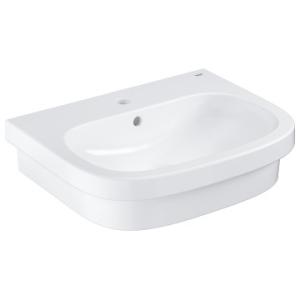 Grohe Euro Ceramic Countertop Basin w/ Overflow 600x480mm White