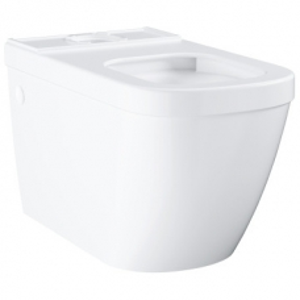 Grohe Euro Ceramic Close-Coupled Rimless Pan w/ Universal Trap White