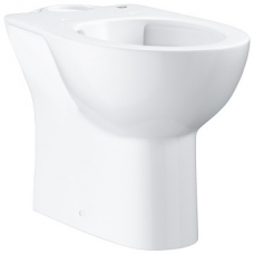 Grohe Bau Ceramic Back-To-Wall Rimless Close-Coupled Pan w/ Horizontal Outlet White
